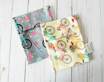 Reusable sandwich bags - set of reusable snack bags - reusable lunch bags - reusable snack pouches - snack bag set - snack baggies