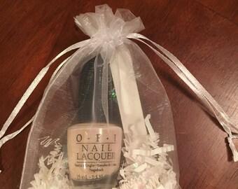 OPI Bridal Collection Nail Polish Bridal Shower Favors - Bridesmaid Gift - Engagement Party Favors