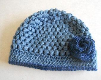 Blue Bubble Hat