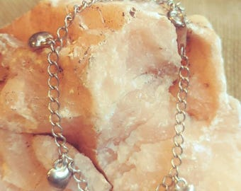Vintage Mini Heart Bracelet