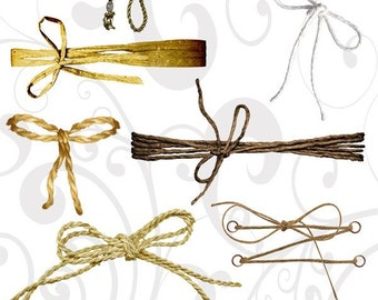Rope PNG Format Collage Sheet
