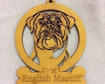 English Mastiff Dog Ornament