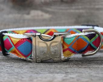 Tanzania Dog Collars - Bright