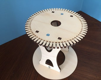 Kumihimo Stand Holder Table 64 Slot Disc Loom Marudai Kit