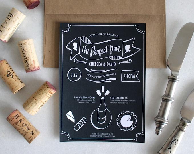 PRINTABLE Bridal Shower Invitation | Perfect Pair