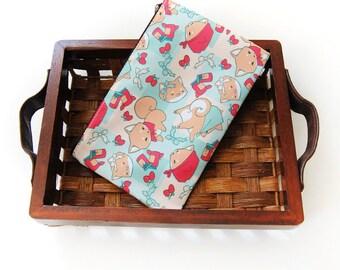 Shiba Inu Doge Strawberry Picnic Zipper Bag