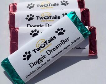 Gourmet Dog Treats - Peanut Butter Candy Bars