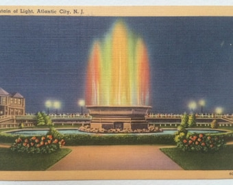 Fountain of Light, Atlantic City, N.J.