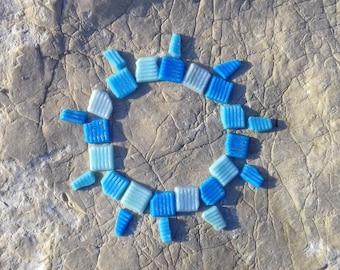 Sea pottery, sea backsplash, sea glass, DIY, sea findings, sea debris 26 pc beach pottery, sea bulk, sea tiles, art&craft supply sea jewelry