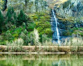Oregon Waterfall.