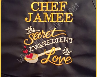Chef Apron Personalized FREE Choose your image and saying