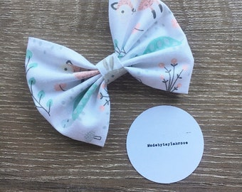 Sweet Forest Animal Bow