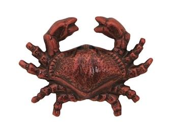 Crab 3/4 inch ( 20 mm ) Susan Clarke Metal Button