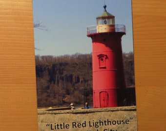 Little Red Lighthouse NY Refrigerator Magnet