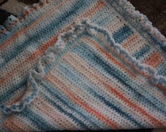 Crocheted Infant or Lap Blanket