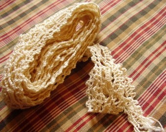 Vintage Crocheted Lace Trim/Sewing Supply