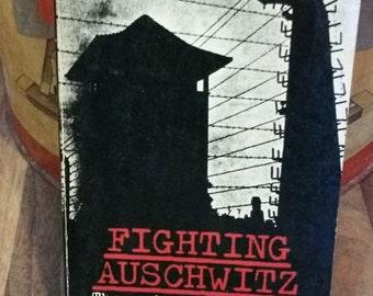Fighting Auschwitz by Jozef Garlinski Vintage Paperback Book