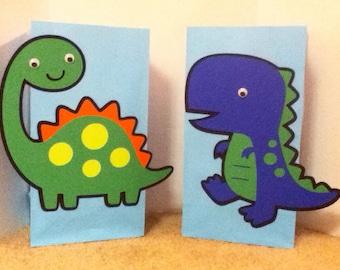 Cute Dinosaur party bags