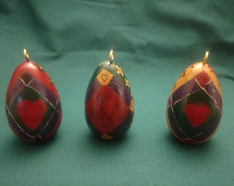 Amish quilt ornaments