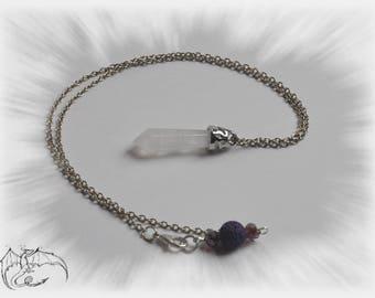 Pendulum with quartz