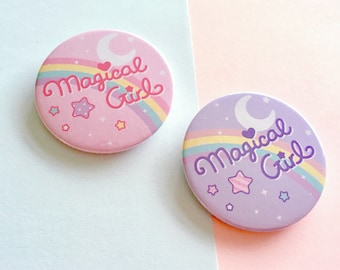 Magical Girl - 45mm Button Badge