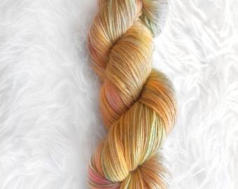 mango tango - MCN sock yarn - merino cashmere nylon