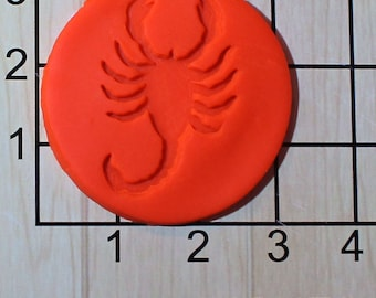 Scorpion Fondant Cookie Cutter AND Stamp #1578