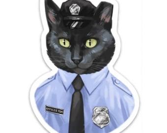 Officer Tom 4 inch Magnet