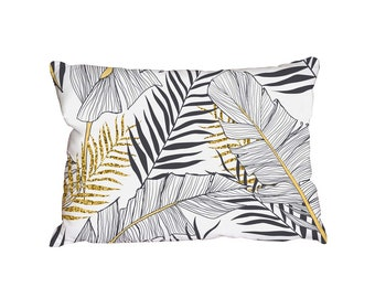 Metallic Leafs (Cushion) Double sided print