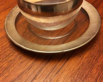 Vintage Dorothy Thorpe Plate and Bowl