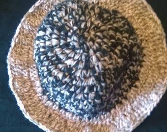 Kids crochet Sun hat