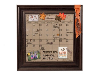 Dry Erase Monthly Calendar, Whiteboard Monthly Calendar