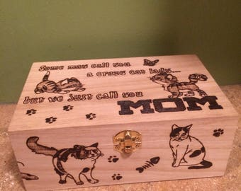 Small Cat Storage Box