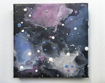 Galaxy Encaustic