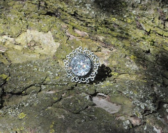 Glam Resin Ring (Adjustable)