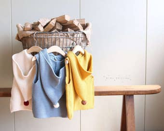 Mini Dressing Fairy Knit Vest