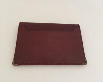Slim Vintage Leather Wallet