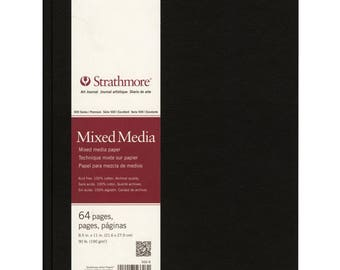 "Strathmore Mixed Media Art Journal 8.5""X11""  62566800"