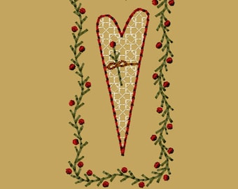 MACHINE EMBROIDERY-My Favorite Place-Heart-4x4-Instant Download