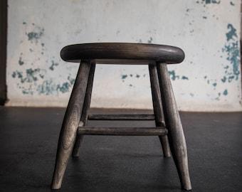 Ash milking stool