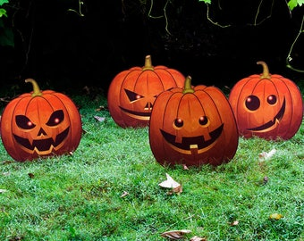 Jack-O-Lantern Lawn Decorations