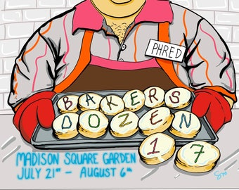 Phred Bakers Dozen Magnet Phish