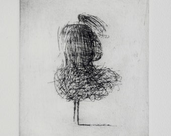 Original Etching Wind