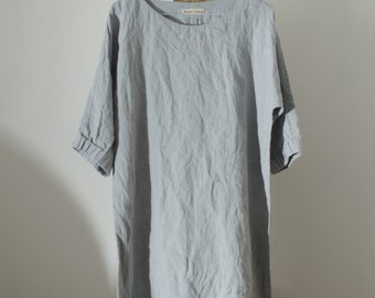 MOON linen dress | custom length