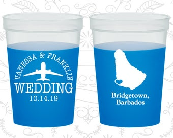 Barbados Wedding, Mood Cups, Destination Wedding, Blue Mood Cups, Bridgetown Wedding (160)
