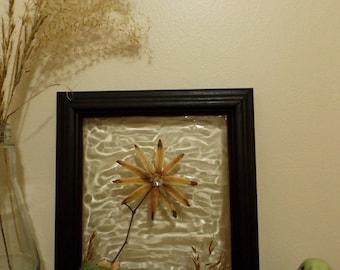 Wall Decor, SunCatcher, Rustic Decor, Flower