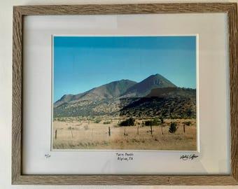 Twin Peaks, Alpine, TX