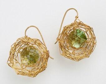 Nest Earrings - Large