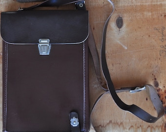 Soviet military bag  Army USSR  Officer leather bag Tablet Russian Planshet Briefcase Army Officer Bag Soviet Union