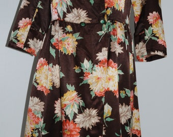 Vintage floral dress Size 38 FR